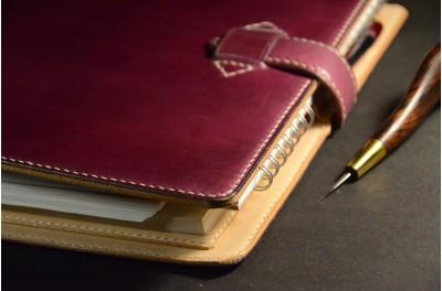 Zápisník s kroužkovou vazbou