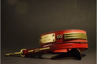 SBT set  s podšívkou- 40mm - červený